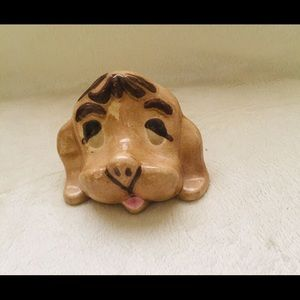 Other - Ceramic Dog Head Figurine Paperweight.